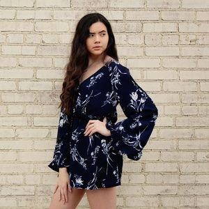 The Sweet Serenity Floral Romper